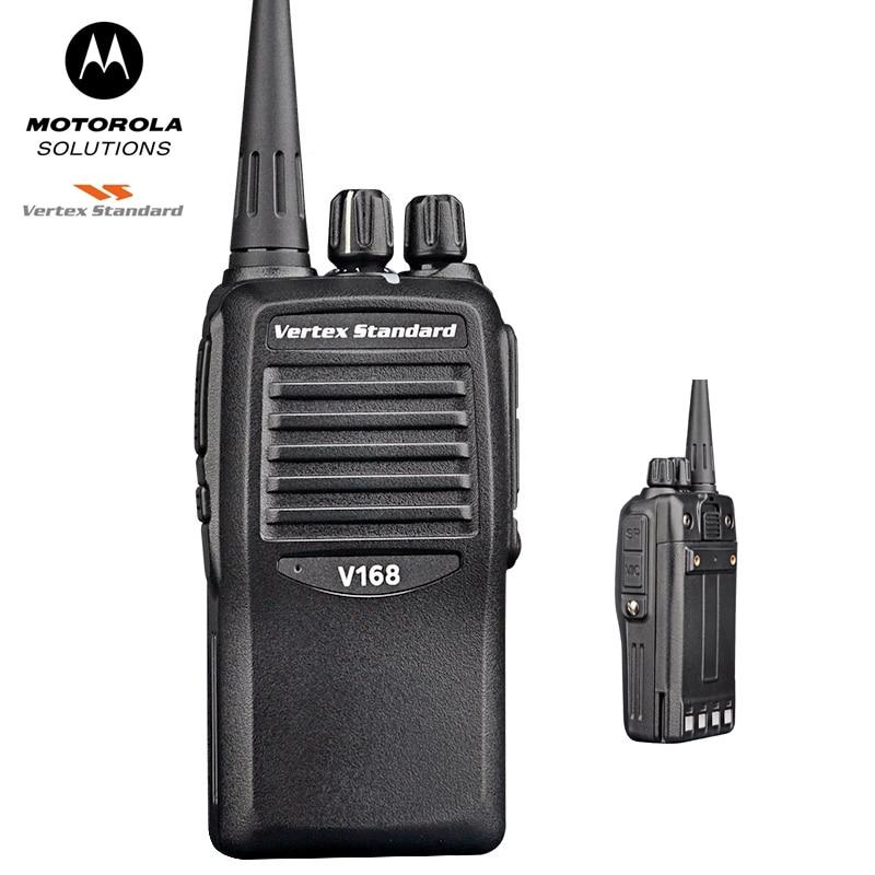 Motorola Walkie-talkie V168 Commercial Civilian Professional Weitex FM Hand-held Long-range Walkie-talkie Official Standard