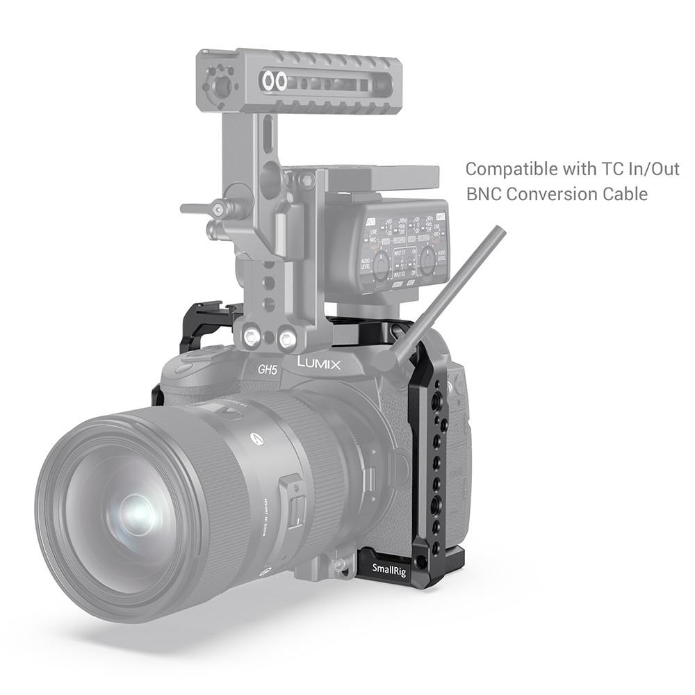 Kletka za kamero SmallRig za Panasonic GH5 in GH5S z nosilcem - Kamera in foto - Fotografija 5