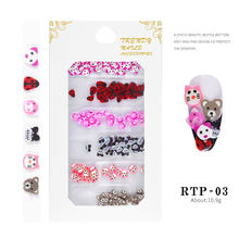 1PC Kawaii Cat UV Gel Kuku Emas Glitter Payet Rendam Off Uv Gel Varnish Warna Kuku Gel bahasa Polandia DIY Nail Art Lacquer(China)