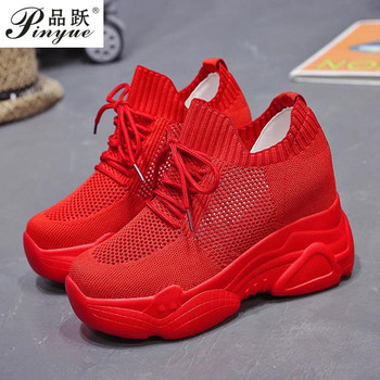Women Autumn Platform Sneakers Women Chunky Causal Dad Shoes Woman Thick Sole Ladies Vulcanize Shoe Laces Chaussures Femme 34-40 1