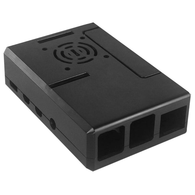 For Raspberry Pi 4 Case DIY ABS Enclosure Case Shell Housing Box Shell Protective Case Cover Lightweight For The Raspberry Pi