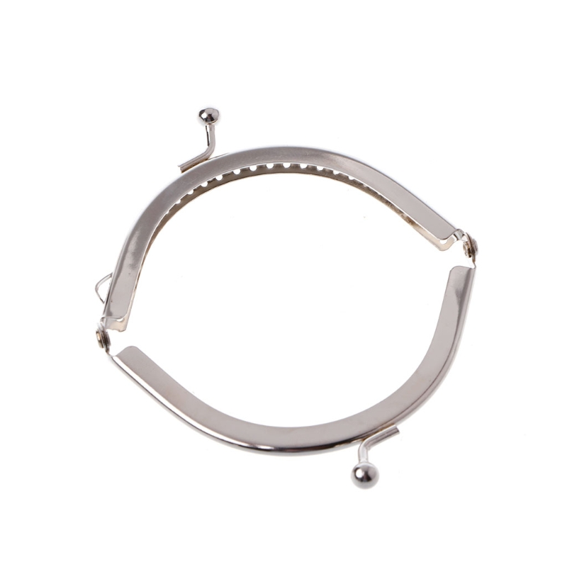 1PC Metal Coin Purse Bag DIY Craft Frame Kiss Clasp Lock Accessories 8.5cm