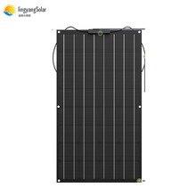 Chine panneau solaire Flexible 100W/200W 300W /400W monocristallin panneau solaire Flexible panneau solaire pour kit de système solaire 12V 24 volts