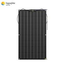 Trung Quốc Tấm Pin Mặt Trời Linh Hoạt 100W/200W 300W /400W Monocrystalline Pin Mặt Trời Linh Hoạt Bảng Điều Khiển Năng Lượng Mặt Trời 12V 24 V Hệ Mặt Trời Bộ