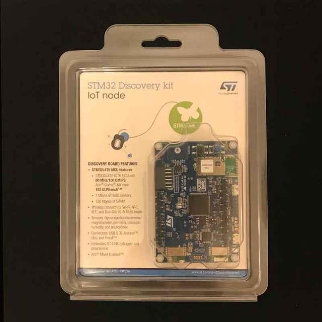 B L475E IOT01A1 B L475E IOT01A2 Discovery Kit Voor Iot Knooppunt Met Ultra Low Power STM32L475 Mcu