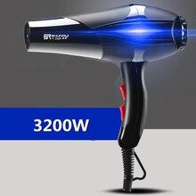 Электрическая сушилка для волос, синяя анионная сушилка, 100% новый и высококачественный, не повреждает волосы, фен для волос 35