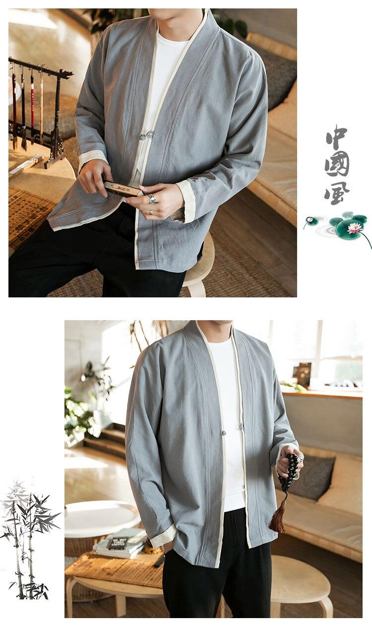 Sinicism Store Men Patchwork Shirt Streetwear Short Sleeve 19 Summer Harajuku Vintage Kimono Shirts Black Fashion Open Stitch 6
