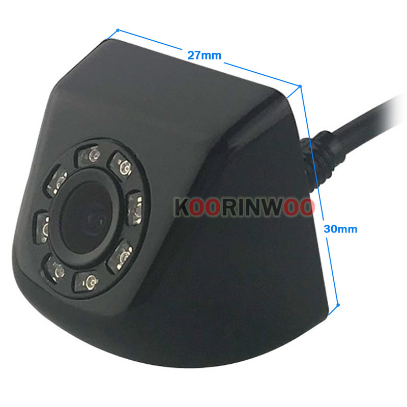 cheapest Koorinwoo CCD HD Switching 8 Infrared Lights Car Rear View Camera   Front Form Camera   Side Cam Back up Parking Assist Video