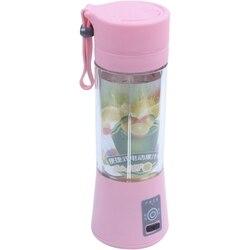380 Ml USB Sạc Máy Ép Chai Lọ Nước Ép Cam Chanh Xay Sinh Tố Chanh Rau Hoa Quả Sữa Sinh Tố Vắt Mũi Doa Bình