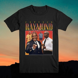 Captain Raymond Holt Homage T shirt Top Shirt Tee USA Brooklyn TV Show Retro 90 Ray