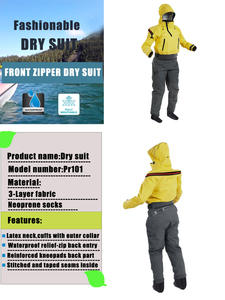 Dry-Suit Kayak Swimming-Sailing One-Piece Women Scuba-Expedition Fishing-Sup for Diving