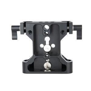 Image 5 - NICEYRIG DSLR מצלמה בסיס צלחת כתף Rig מצלמה כלוב צלחת 15mm רוד קלאמפ DSLR מצלמה DIY וידאו כתף Rig תמונה סטודיו