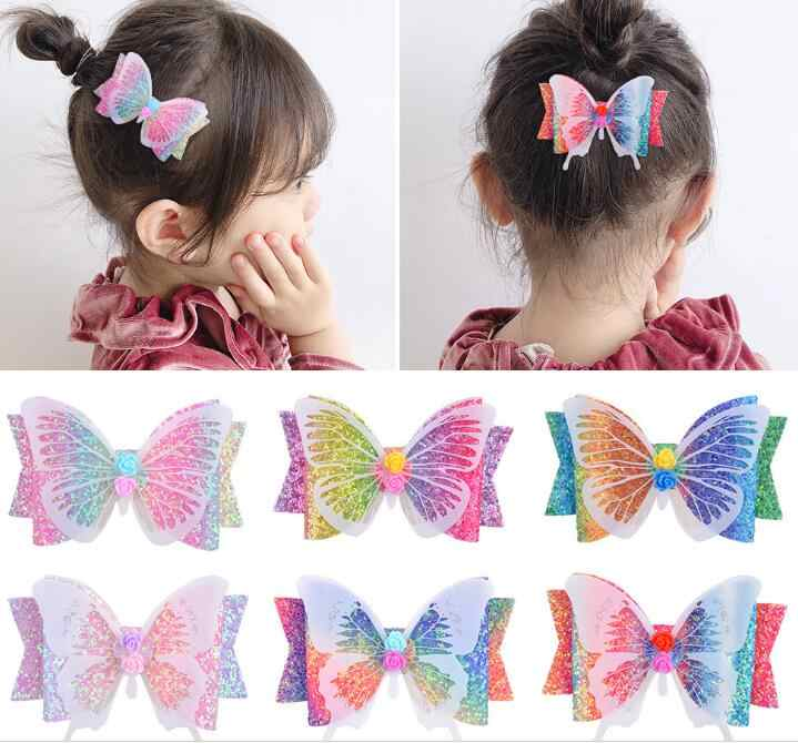 3 Inch Girls Hair Bows for Toddlers Child Baby Hair Clips Pigtail Bows 20 Bulk