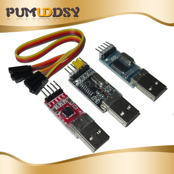 3pcs/lot =1PCS PL2303HX+1PCS CP2102+1PCS CH340G USB TO TTL for arduino PL2303 CP2102 5PIN USB to UART TTL Module yaosheng cp2102 usb to ttl adapter module blue silver