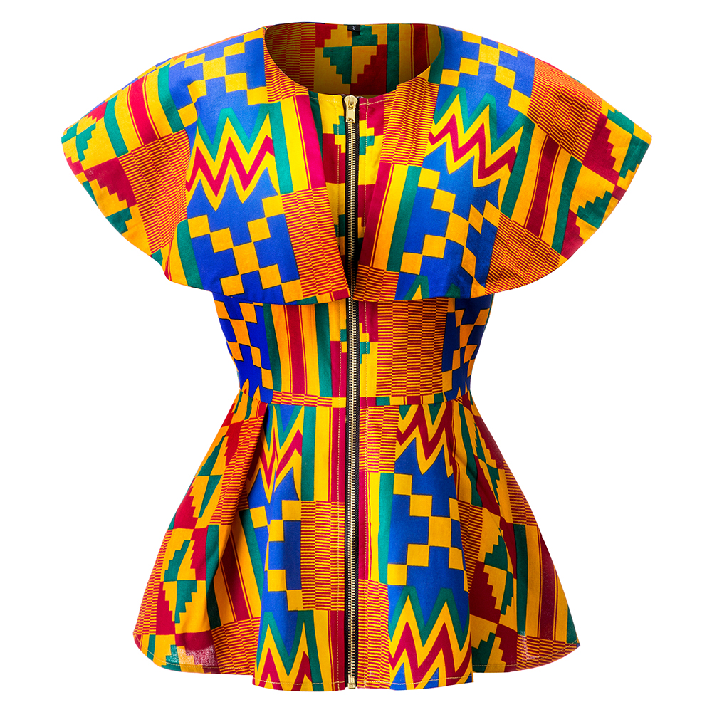 African Clothes For Women Shirts African Kente Print Clothes African Traditional Clothes African Fashion Clothes Kente Print Top