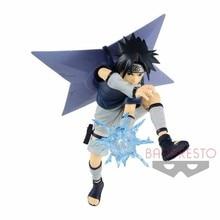 Bandai Glasses Factory Naruto Childhood Uchiha Sasuke Doll Model Children's Toys Anime Characters Collectibles Gifts