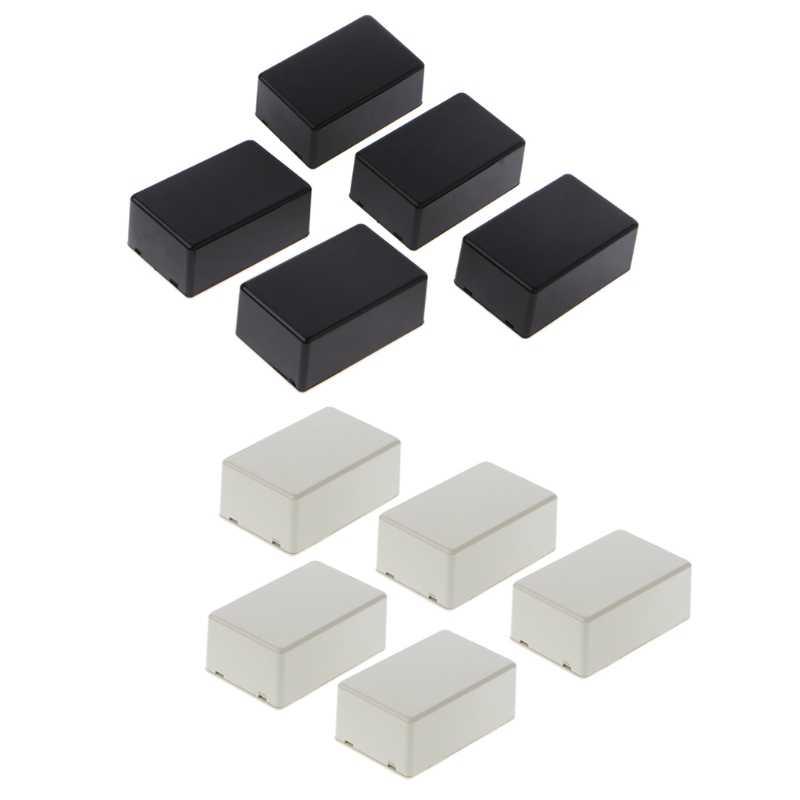 5Pcs 40x20x11mm Plastic Electronic Project Box Enclosure Instrument Case SNWUSSU