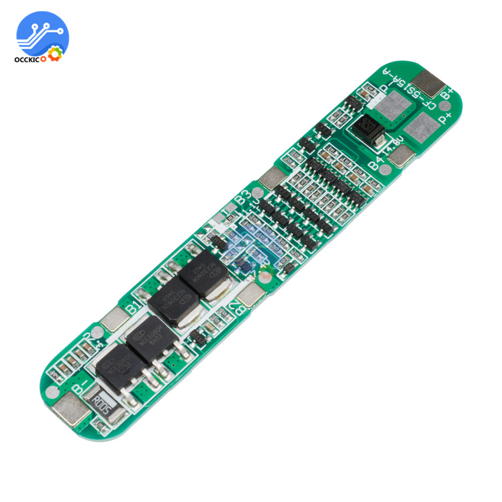 BMS 5S 12A 18.5V 18650 Li-ion Lithium Battery Charger Protection Board Module Automation Kits 18650 Battery Balancer Atmega