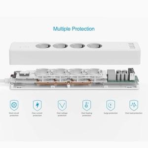 Image 4 - Wifi الذكية قطاع الطاقة 4 منافذ الاتحاد الأوروبي 16A التوصيل المقبس مع USB شحن ميناء ، App التحكم الصوتي العمل بواسطة أليكسا جوجل الرئيسية مساعد