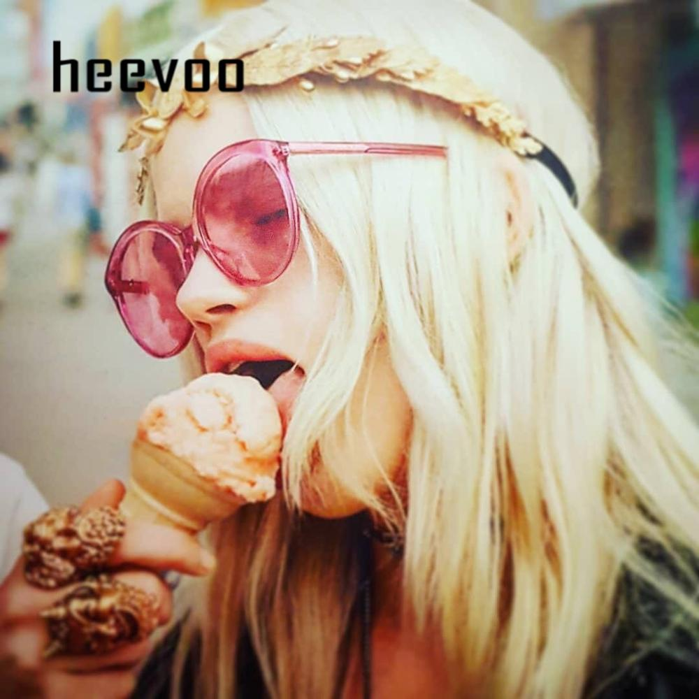 Vintage Colorful Round Sunglasses Women Brand Designer Fashion Pink Yellow Sun Glasses Retro Shades For Lady UV400