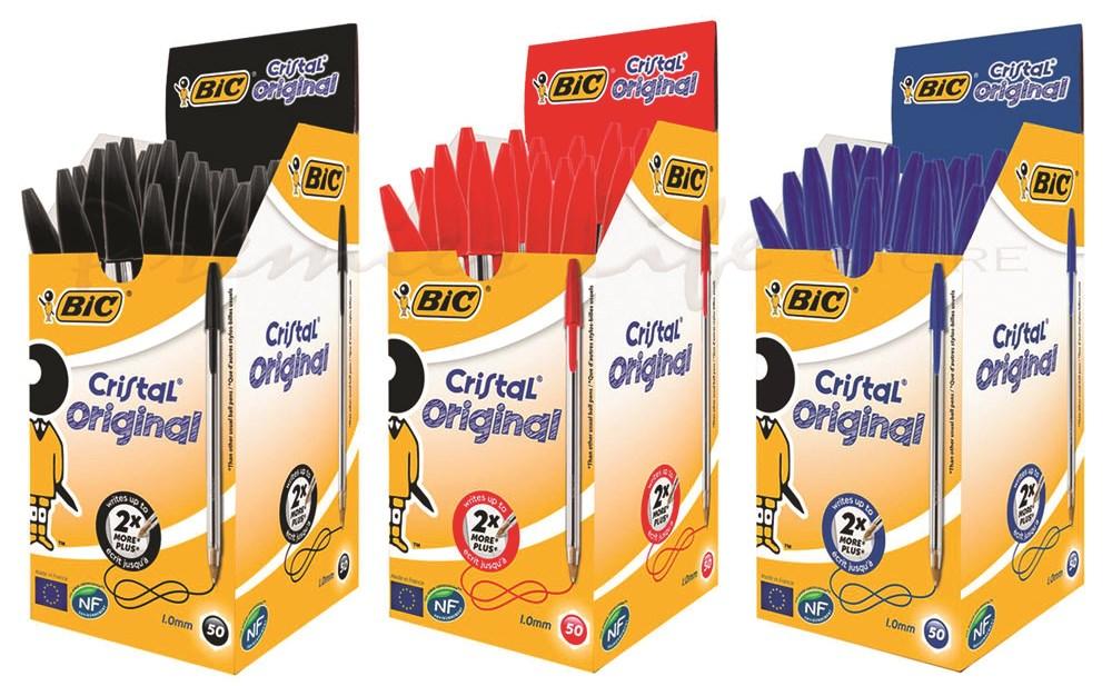 BIC Cristal Ballpoint Pen S Box