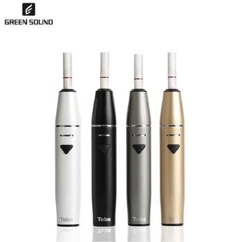 Green Sound TOBA ICOS Electronic cigarette vaporizer kit 1500mah vaper cigarettes icos vape pen for iCos vapor Kits vapes hookah