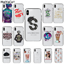 MaiYaCa American TV Riverdale Jughead DIY Painted Beautiful Phone Case for Apple iphone 11 pro 8 7 66S Plus X XS MAX 5S SE XR(China)
