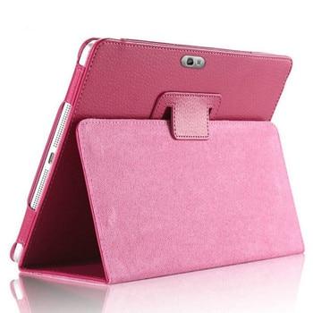 """GT-N8000 N8000 N8010 N8020 Pu Leather Case Cover Voor Samsung Galaxy Note 10.1 """"2012 Release N8000 Tablet Magneet Flip stand Cover"""