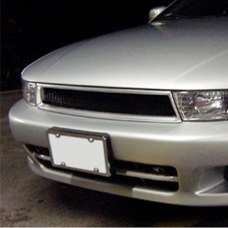 Use for Mitsubishi Galant racing grills 1999--2001 year carbon fibre front center racing grill cover accessorie body kit
