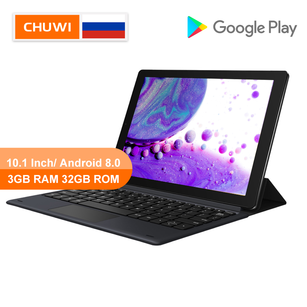 CHUWI Original HiPad LTE 10.1 Inch Tablet MT6797 X27 Deca Core  Android 8.0 3GB RAM 32GB ROM 4G Phone Call  1920*1200 Resolution