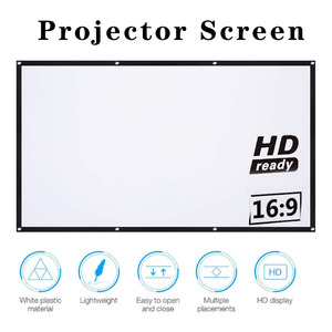 16:9 Full HD Projector Screen Home Cinema 60 / 72 / 84 / 100 / 120 / 150