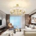 Lustre pendente luminaria стеклянный шар для гостиной светодиодный подвесной светильник для спальни deco chambre