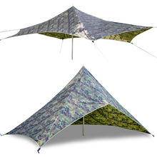 GeerTop Ultralight Awning Tent Tarp Beach Garden Sunshade Sun Shelter Rain Fly Wind Ressitant Canopy Camping Outdoor Hammock