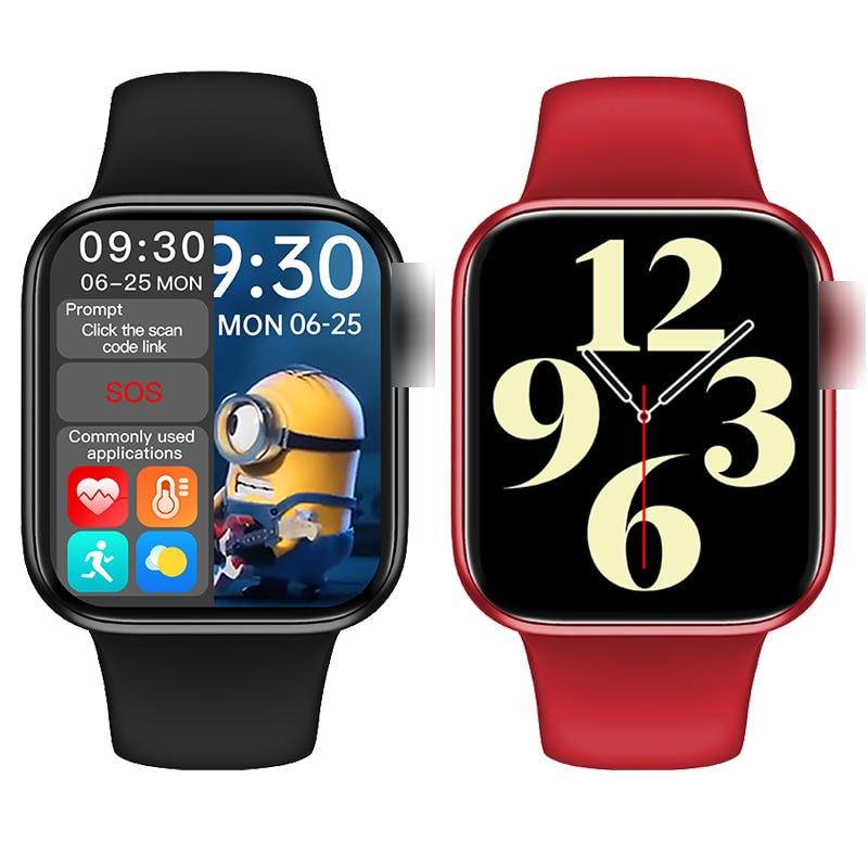 100% Оригинальные Смарт-часы HW16, 44 мм, 320*385, Bluetooth, вызов, уровень кислорода в крови, водонепроницаемые Смарт-часы PK W56 W46 W26 FK88 IWO 6 HW12