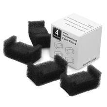 4PCS Cat Water Fountain Filter Carbon Replacement Filters For Pet Water Dispenser Filter Cotton Florets Filter Cotton