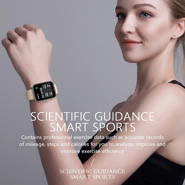 Full Touch Y20 Sport Smart Watch Men Women IP68 custom dial Heart Rate Fitness Tracker Smartwatch wristwatch GTS 2 P8 plus 4
