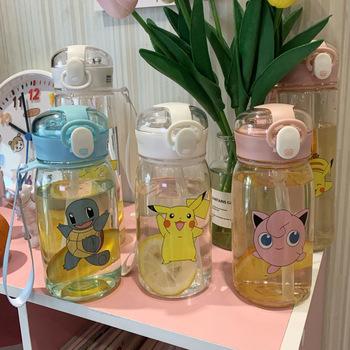Zabawkowe figurki z Anime Pokemon Pikachu śliczne wody kreatywne dzieci kubek dla studenta Pokémon dziewczyny chłopcy figurki dla dzieci zabawki prezent tanie i dobre opinie TAKARA TOMY Model 13-24m 25-36m 4-6y 7-12y 12 + y CN (pochodzenie) Unisex 350ML PIERWSZA EDYCJA Wyroby gotowe A-001 Japonia