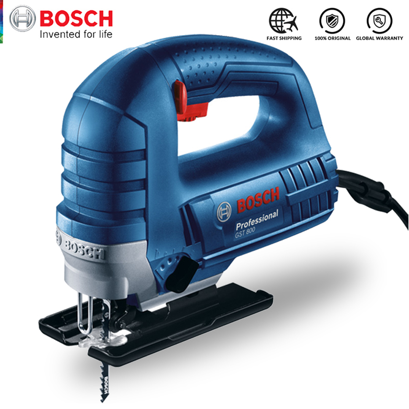 Bosch Jig Saw Electric Saw Blade Multifunctional Jigsaw Electric Saws for Woodworking Power Tool Cutting Metal Aluminum Work Jig