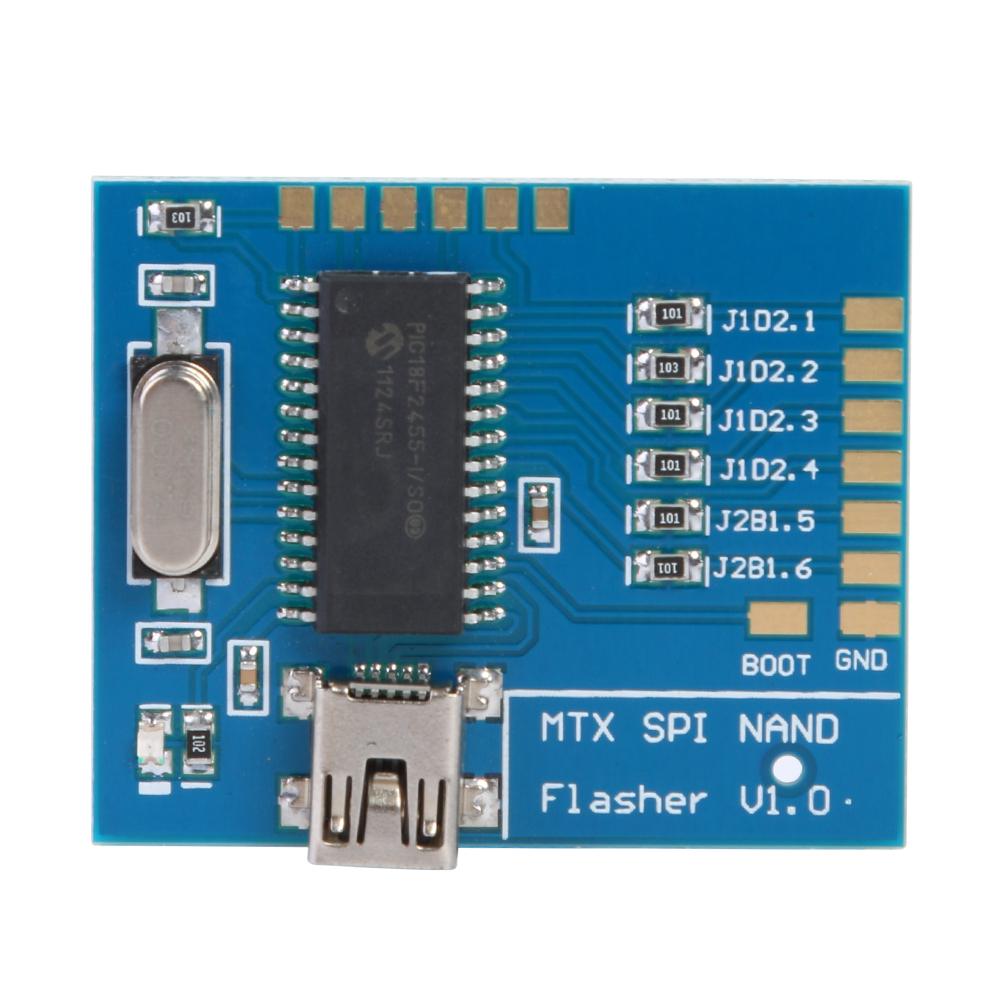 Matrix NAND Programmer MTX SPI Flasher V1.0 Fast USB SPI NAND Programmer Reader for XBOX 360 Gaming Accessories New