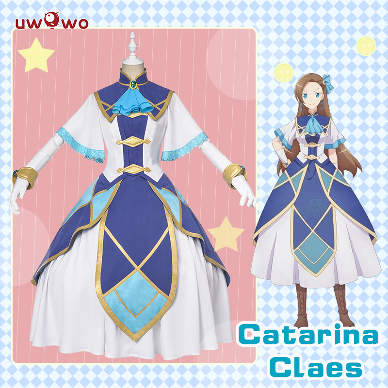 【Pre-sale】Uwowo My Next Life As A Villainess: All Routes Lead To Doom! Catarina Claes/Katarina Claes Cosplay Costume Elegant Dre
