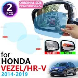 for Honda HR-V Vezel HRV HR V 2014~2019 Full Cover Rearview Mirror Anti-Fog Rainproof Anti Fog Film Accessories 2016 2017 2018