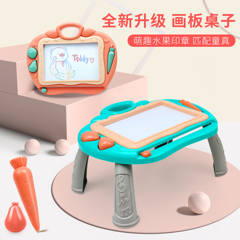 Children Plastic Magnetic Legs Sketchpad Infants Educational Painting Small Blackboard Baby Graffiti Writing Board Toys