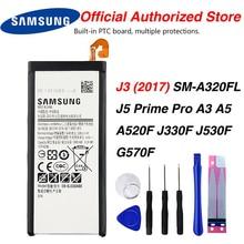Original Samsung EB-BJ330ABE Battery For Samsung GALAXY SM-J330 J3300  J3 2017 2017 Edition Mobile Phone 2400mAh аксессуар защитное стекло samsung sm j330 galaxy j3 2017 aksberry