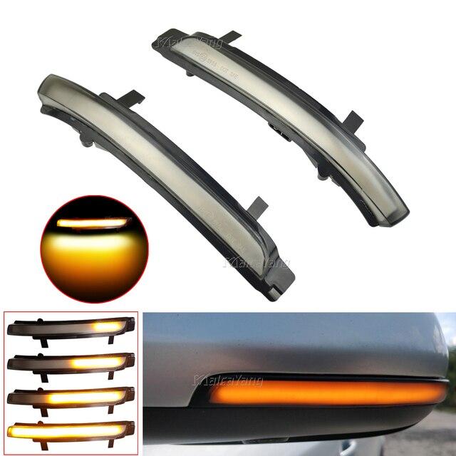 Dynamic LED Turn Signal Blinker Mirror Flasher Light Sequential Lamp For Skoda Octavia 2009 2013 SUPERB 2008 2014