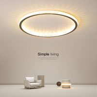 Minimalist Black/White/Gold led ceiling lights For living room lights Bedroom ceiling light Modern ceiling lamp plafon led lamp