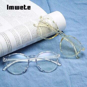 Imwete Classic Transparent Round Glasses Frame 1