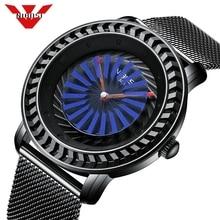 NIBOSI reloj hombre de marca de lujo relojes casuales de moda reloj de cuarzo impermeable militar suizo deporte reloj Relogio Masculino