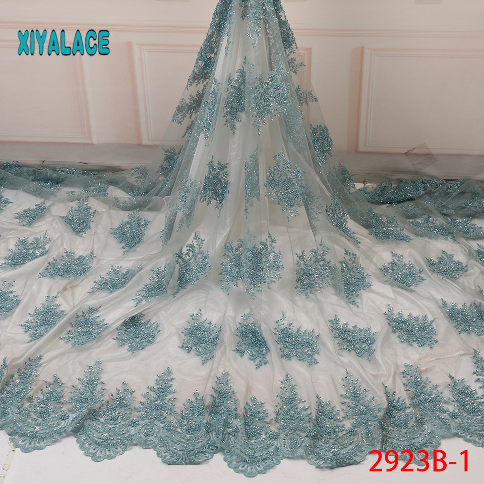 African Lace Fabric Switzerland Lace 2019 High Quality Lace Fabric Nigerian Lace Fabrics French Bridal Lace For Dress YA2923B-1