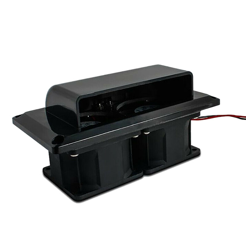 1Pcs 12V Black Side Vent Ventilation Fan for RV Caravan Motorhome Trailer