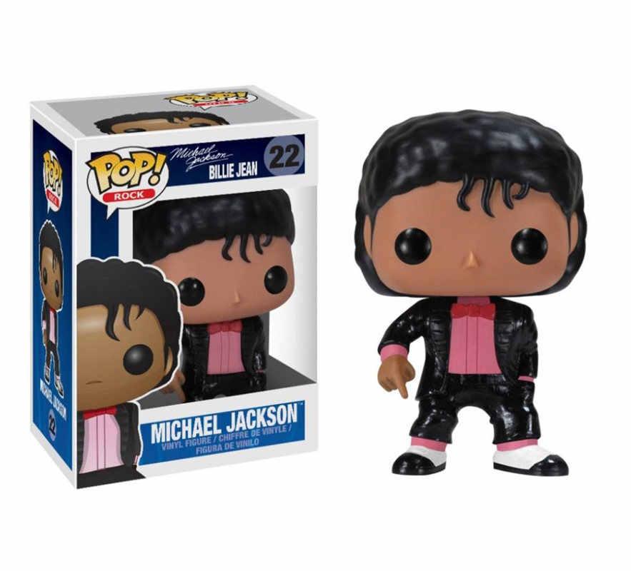 FUNKO POP Billie Jean Dangerous Beat It Майкл Джексон Виниловая фигурка Коллекция Модель Куклы Игрушки для детей подарок на день рождения